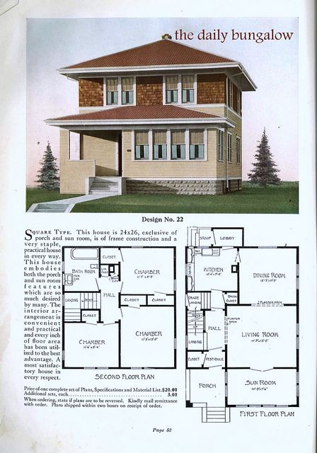 80 Best Images About American Four Square House On