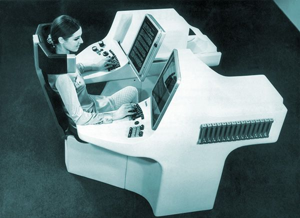 Future computers! (Keystone-France/Gamma-Keystone via Getty)