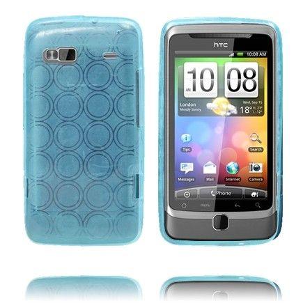 Amazona (Lyse Blå) HTC Desire Z Deksel