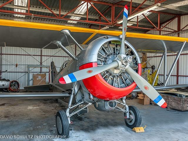Grumman F3F-2 R-1820-34 Cyclone #biplane #1930s
