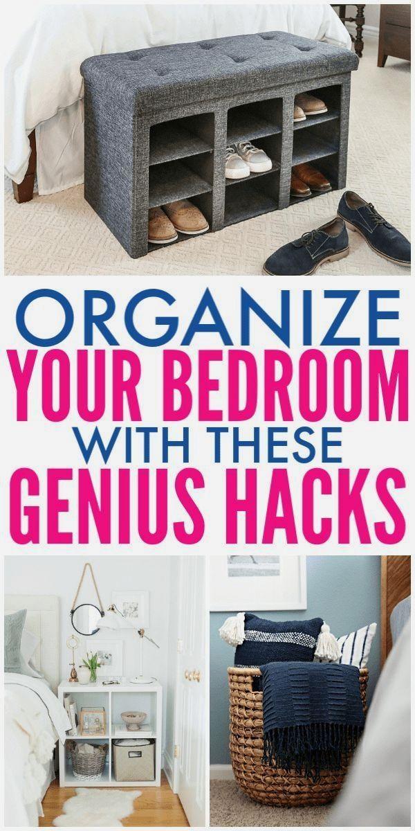 8 Ways To Simplify Organize Your Master Bedroom Bedroom Organization Diy Small Bedroom Organization Small Master Bedroom