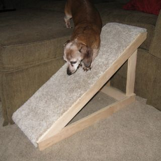 How to build a Pet Ramp I would need to build side rails for mine... lol  ~sch