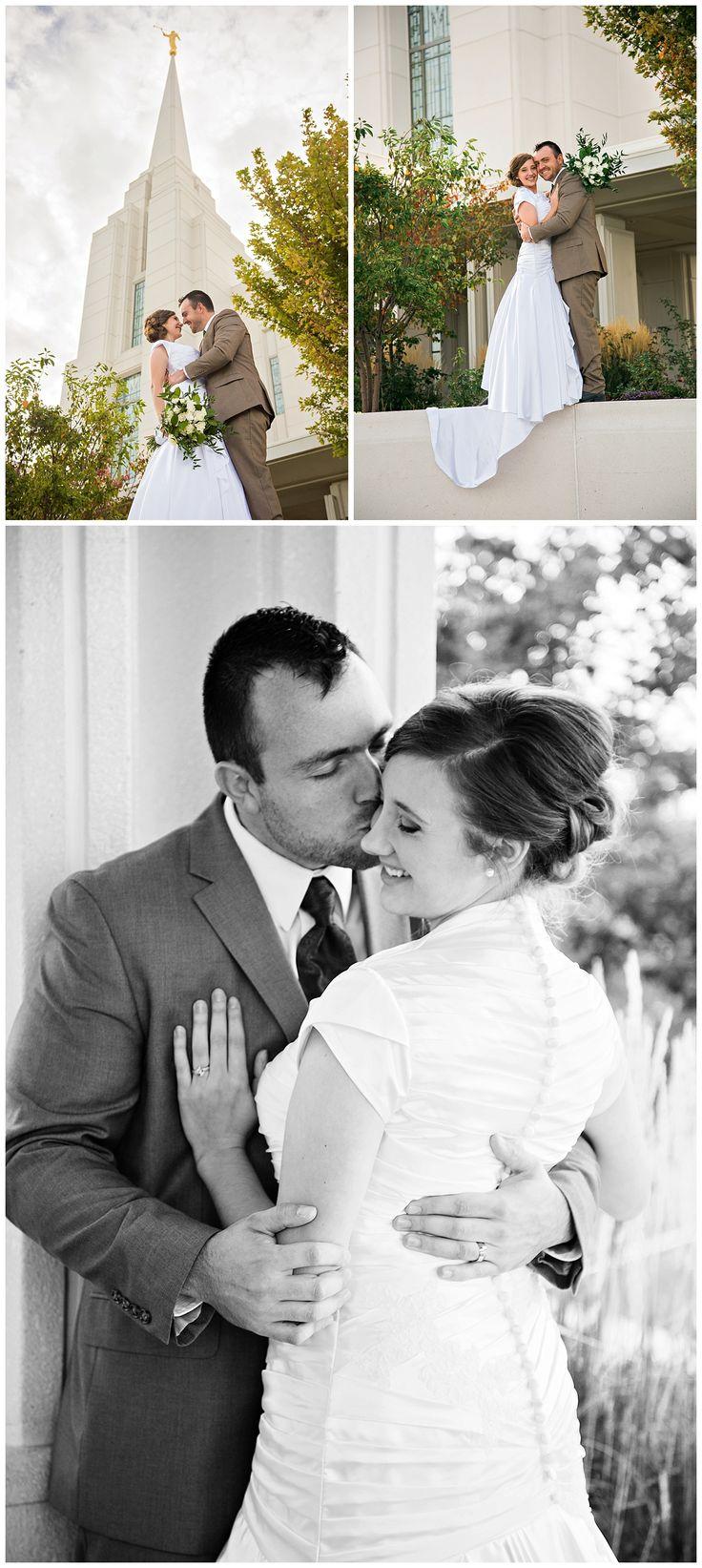 Rexburg Temple Kelly Canyon Bridals Kendra Sue Photography Idaho Wedding