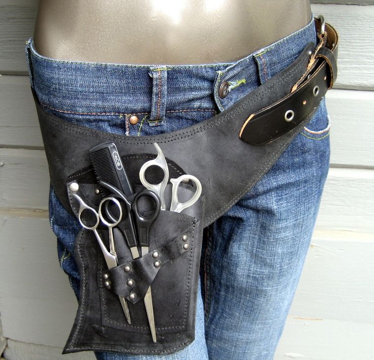 hair stylist shearscissor holsterpouch barber shop