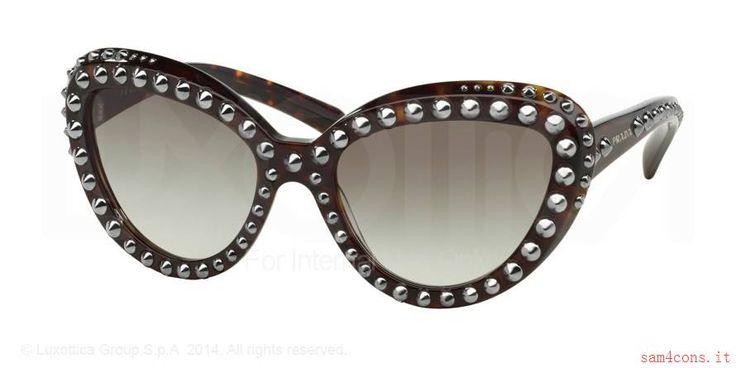 Occhiali da sole Prada Ornate Borchia Avana pr31qs 2au0a7 in linea