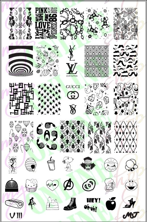 Pin By Anna Taylor On Nail Stamping Plates In 2018 Pinterest And