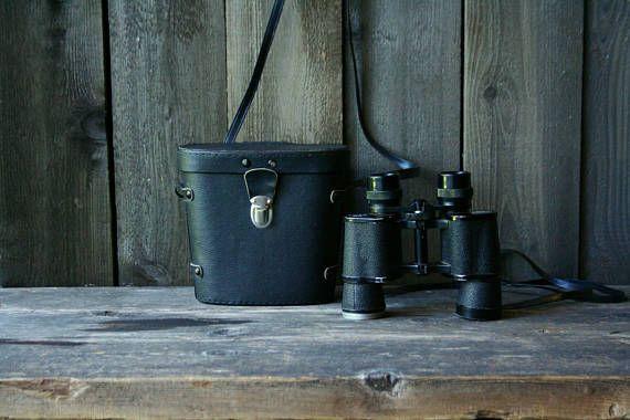 Vintage Bushnell Binoculars And Case 7 x 35  Bird Watching
