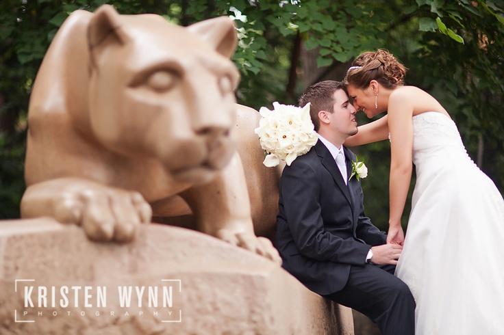 penn state wedding. (gophers obvi)