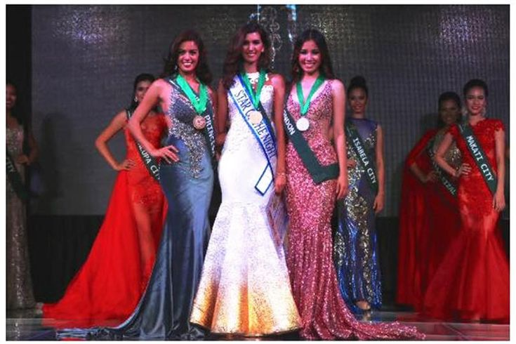 Take a glimpse at Miss Philippines Earth 2016 Evening Gown Contest Winners