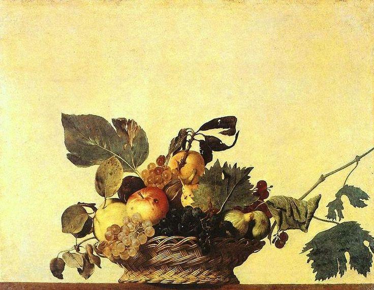 Caravaggio - Canestra di frutta - Michelangelo Merisi da Caravaggio – Wikipédia