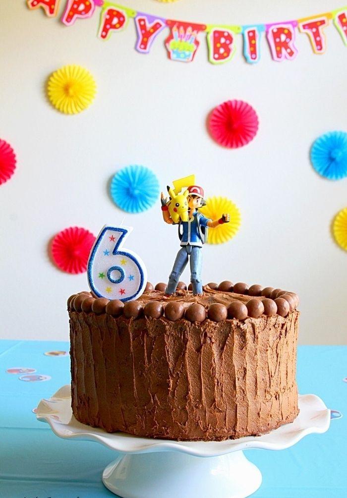 ▷ 1001 + idées pour une décoration originale de gâteau d ... Decoration Pokemon Anniversaire on