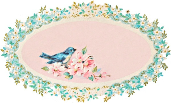 Freebies: Bluebirds, Paper Roses, Diy'S Idea, Cute Birds, Sewing Blog, Vintage Birds, Shabby Chic Design, Susan Branches, Kitchens Cabinets