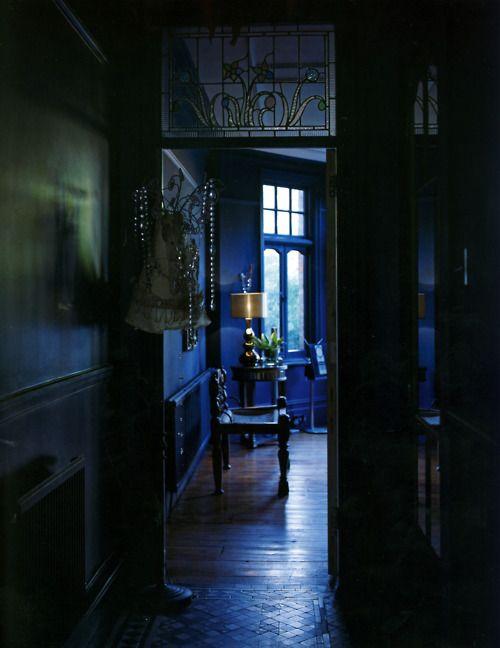 thisivyhouse:  Moody indigo