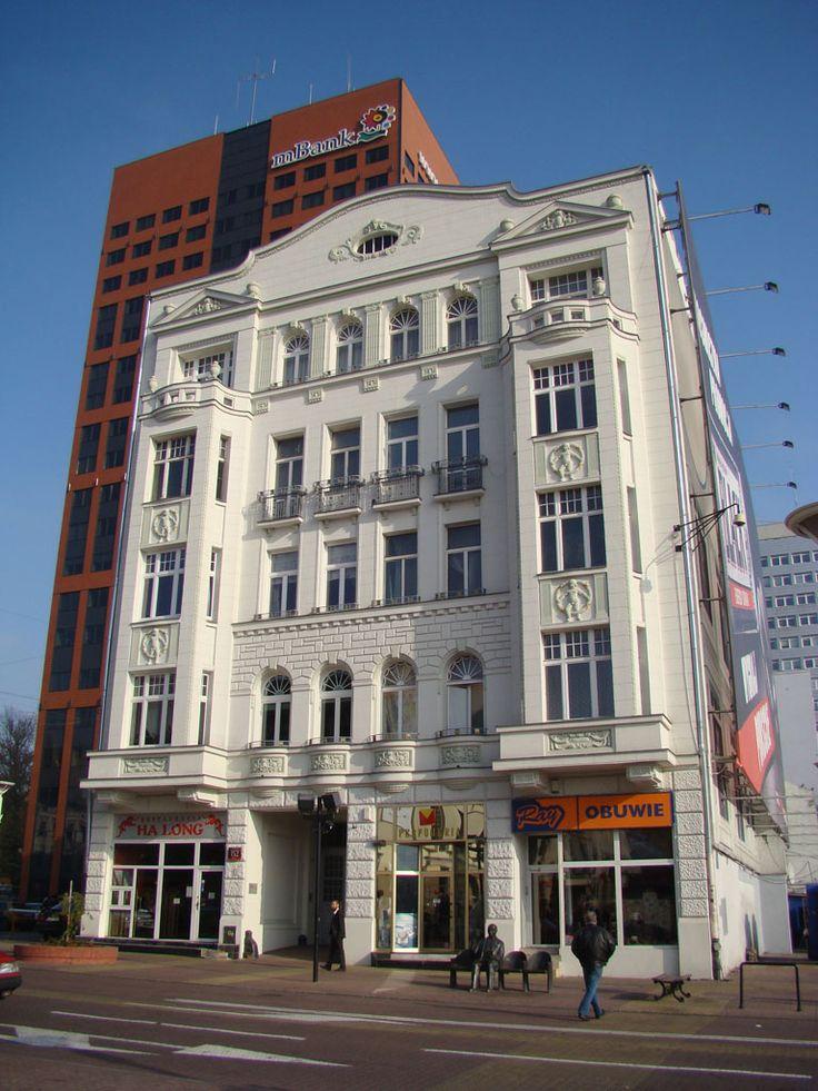 Łódź, Piotrkowska 152 (1913, arch. Witold Szereszewski), fot. PK