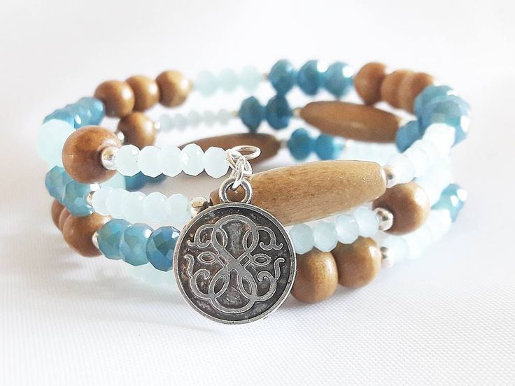 Beads Bracelet for Woman, Memory Wire Wooden Beaded Bracelet, Gift for Her Gift for Woman, Unique Bracelet for Gift, Bracelet for Friend by modotikon on Etsy