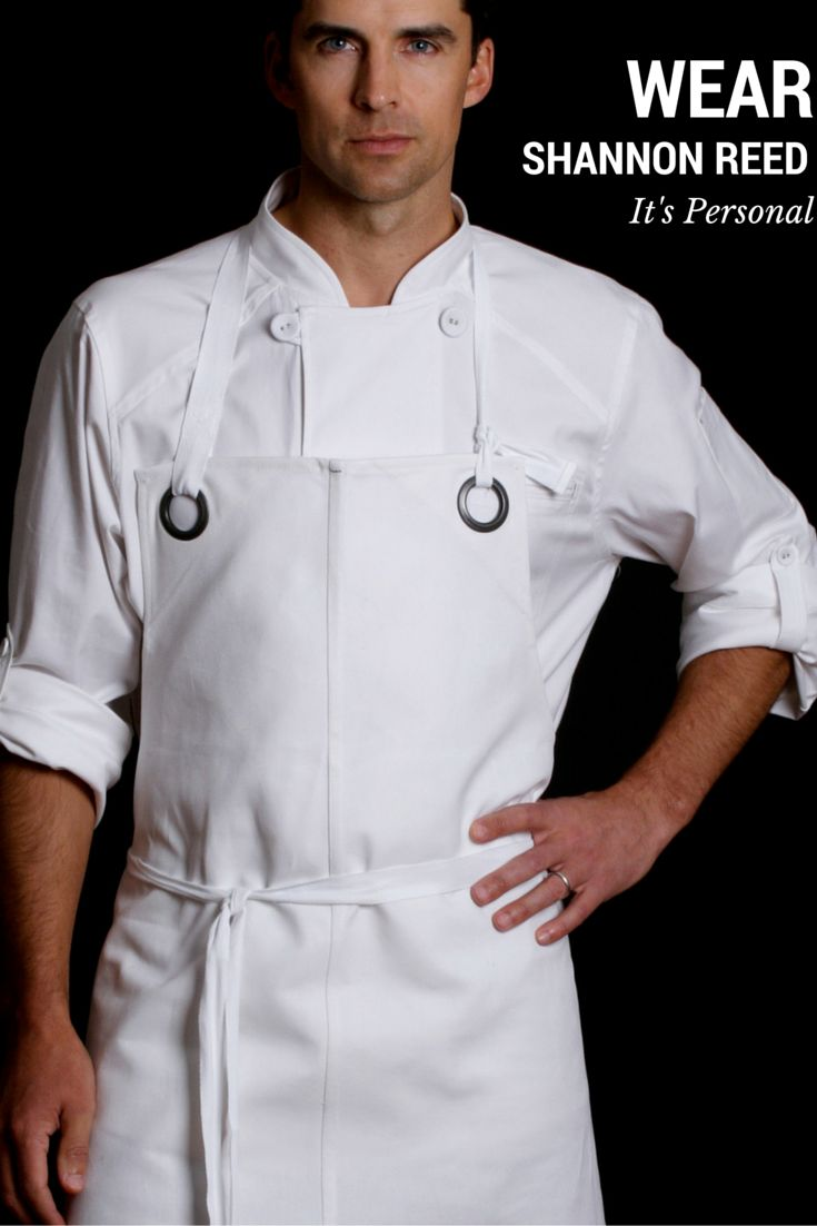 24 best CHEF COATS images on Pinterest | Work uniforms, Aprons and ...