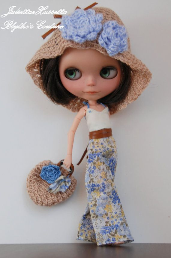 Blythe hippie hippy boho outfit by juliettaexussetta on Etsy