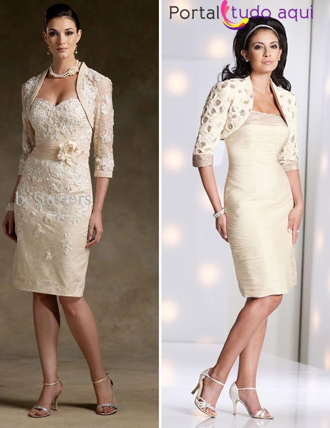 a722670a13 Vestido de noiva para jovens senhoras e senhoras com mais idade ...