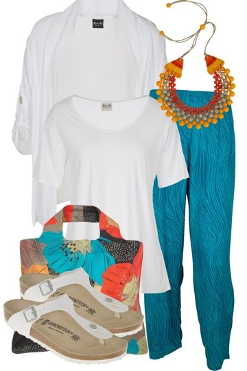 Seaside Wandering Outfit includes Zoda, Birkenstock, and Kita Ku - Birdsnest Buy Online