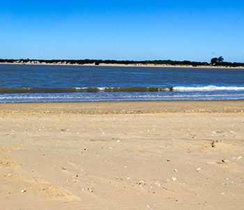 Playa Bajo de Guía, Sanlucar de Barrameda, Cádiz