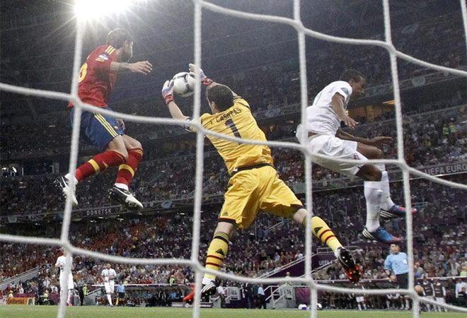 Casillas. España - Portugal