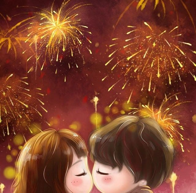 27 Wallpaper Anime Happy New Year Happy New Year Cute Love Cartoons Cute Love Images Cute Sumber Happy New Year Wallpaper New Year Anime New Year Fireworks