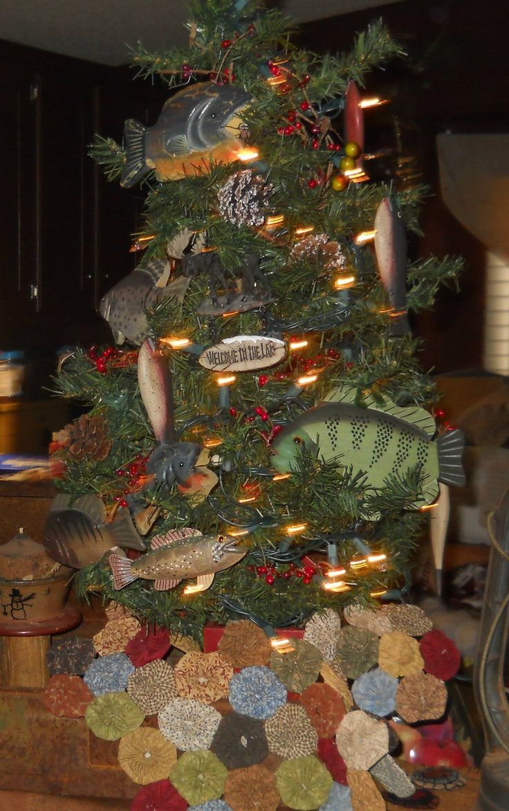 Fish Christmas Tree Ornaments