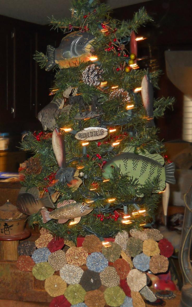 Fish christmas ornaments - Fish Christmas Ornaments Our Fishing Christmas Tree 2012