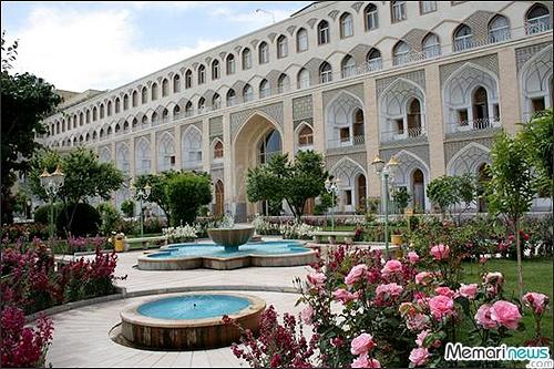 Abbasi Hotel, Esfahan, Iran