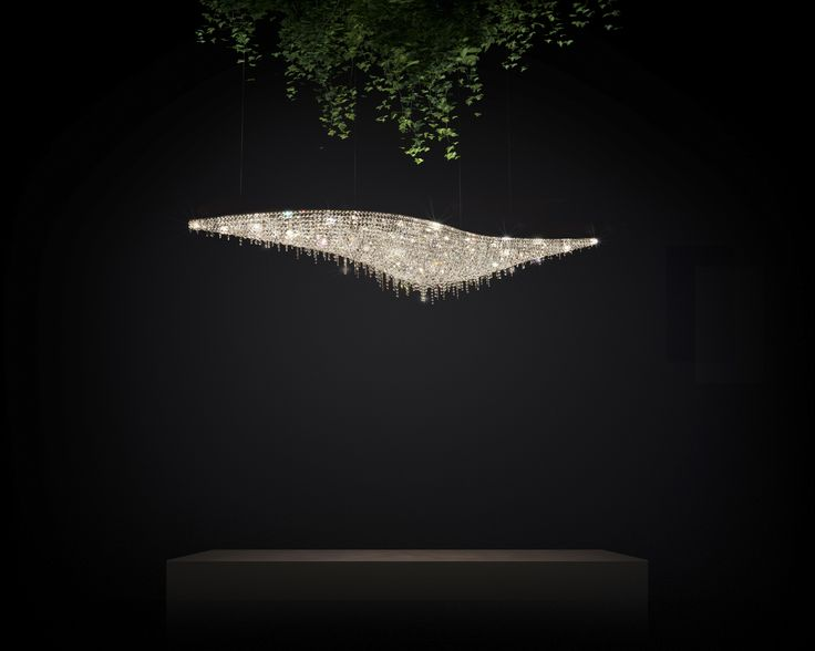 Vague Crystal Chandelier from Manooi www.manooi.com #Manooi #Chandelier #CrystalChandelier #Design #Lighting #Vague #luxury #furniture