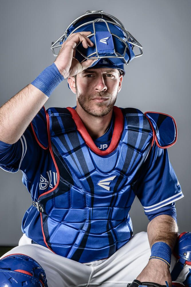J.P. Arencibia, Toronto Blue Jays, 2013. Some people question why I like ball so much?!?  Really??