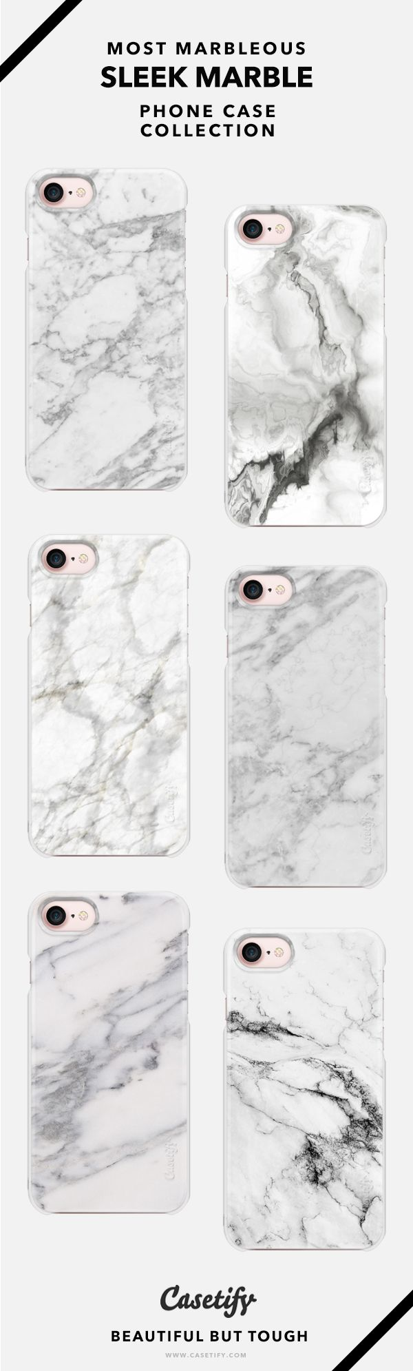 Sleekest Marble & Minimalist Phone Case Collection - iPhone 6/6s/7/7+ AND MORE! Shop them here ☝️☝️☝️ BEAUTIFUL BUT TOUGH ✨ - Marble, Minimal, White, Monochrome, Design, Art, Popular, Patterns, Black and White
