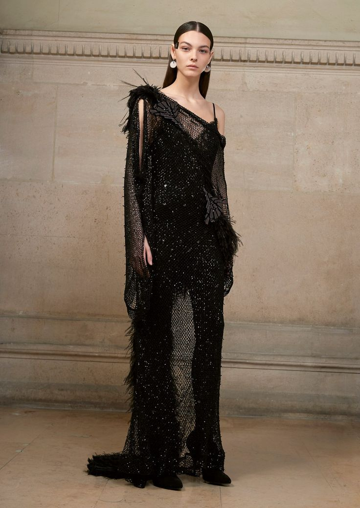"""runway-report:  """"Vittoria Ceretti for Givenchy Couture Spring 2017  """""""