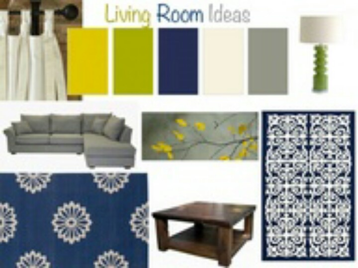 Navy blues and greens home ideas pinterest