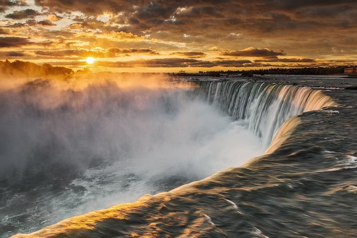 Sunrise at Niagara Falls by Alexey Abramenko on 500px