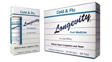 Our BEST SELLER because it works! This fantastic safe and fast way to treat cold & flu symptoms is perfect for your medicine kit. The convenient 'chapstick' size bottle of 30 doses fits in any pocket. The medicine tabs melt under your tongue so you don't need water, making this easy to take on the go! Buy Longevity Pure Medicine Cold & Flu at http://www.longevitypuremedicine.com/servlet/the-Cold-%26-Flu/Categories.