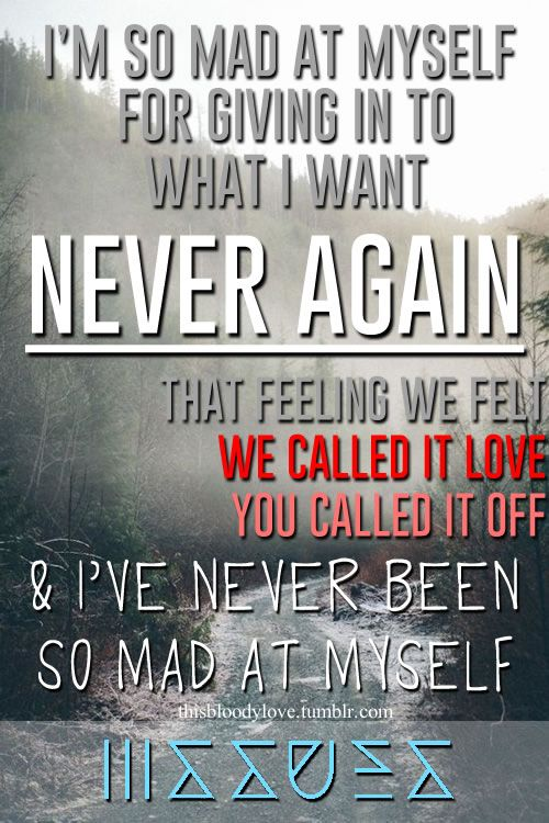 Mad At Myself by Issues