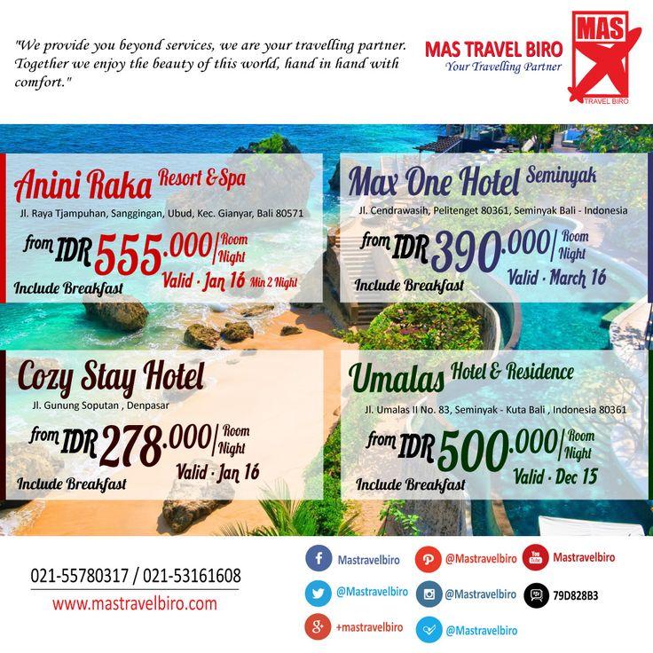 Hotel Berbintang di Bali Mulai Dari Rp 279.000/Malam , Pesan Sekarang ! ;) #promo #hotel #bali #opentrip