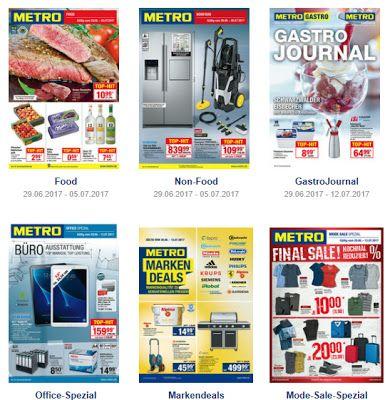 Angebote + Prospekt DE: METRO prospekte-kataloge ab29.06 / 6.07 2017