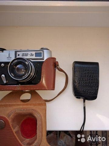 Фотоаппарат фэд-5, фотоэкспонометр Ленинград-4— фотография №2