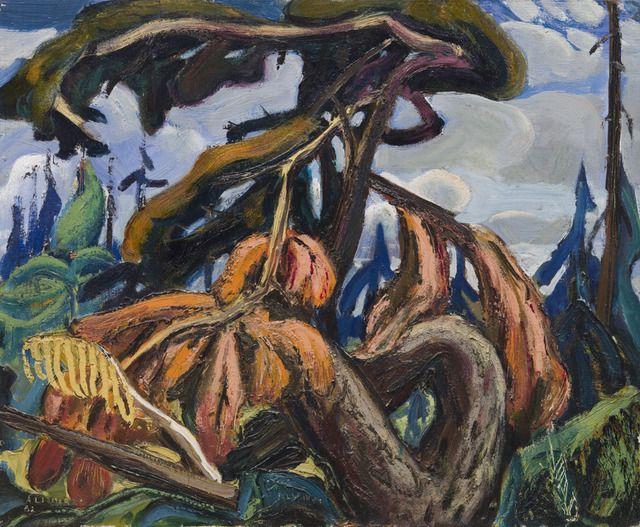 Vancouver Island - Arthur Lismer, 1952