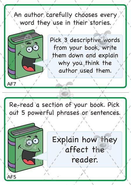 Teacher's Pet - KS2 Reading Challenge Cards (Pack 1) - Premium Printable Classroom Activities and Games - EYFS, KS1, KS2, challenge, reading...
