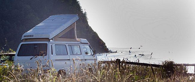 Western Washingtons onlyVolkswagen Westfalia vanrental