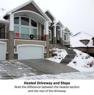 31 best heated driveways images on pinterest driveways heated installing a heated driveway solutioingenieria Image collections