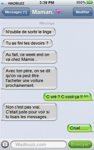 Humour. A transférer à Clément.