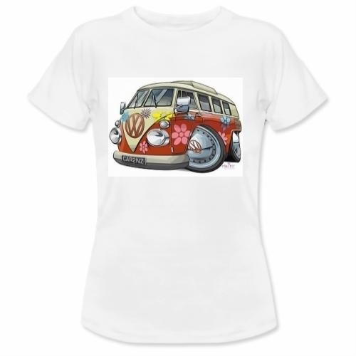"Woman white t-shirt: ""Vintage Bus"" €19.00  http://www.12print.it/artshop/moda&moda/maglietta-donna-vintage-bus-3071.htm"