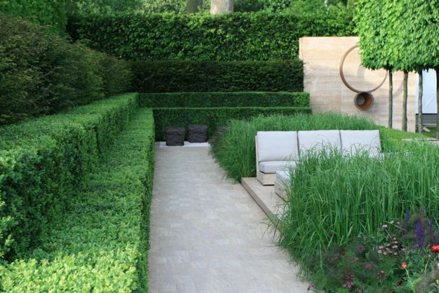luciano giubbilei is described as the armani of garden design...so elegant