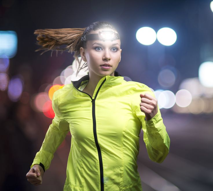 High powered Head Torch for running/Jogging. See and be Seen.