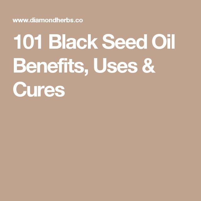 101 Black Seed Oil Benefits, Uses & Cures