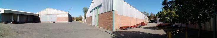 Patio Camiones Bodegas Duramet - Arriendo de Bodegas y fabricacion de Estructuras Metalicas - Telef. 228571547 - 228571983 - 228571408